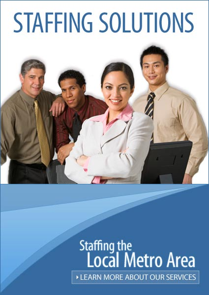 Staffing Solution online ad